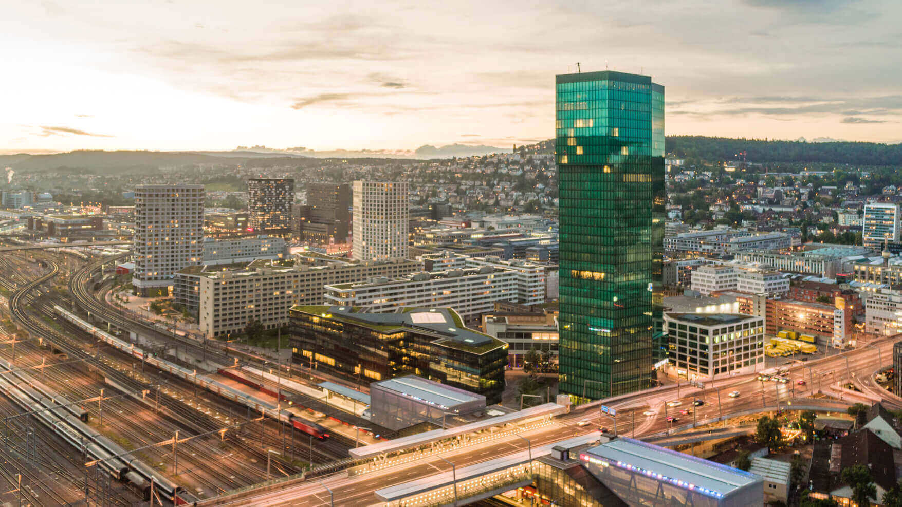 Successful structuring of a 83.9% loan-to-value at 2.06% on a commercial building in Zurich